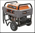 Generac _ XP 8000E Watts_10,000 SURGE-W/Elect Start_Gas-120/240-410cc-Low Oil shutdown-Fuel shut-off-6 Outlets 20/30Amp Breakers-Hour Meter-3yr Warranty- Portable Generator-CARB/CALIF COMPLIANT-free shipping (SKU: 5935)