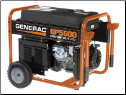 Generac _ GP 5500 Watts_120/240v-389cc-5 outlet-Portable Generator_Compliant  49 State-free shipping (SKU: 5939)