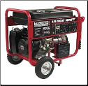 Gentron10,000Wt New-Model,15 Hp Elect Start Battery Included Auto Voltage Reg Hour Meter Wheel Kit Low Oil Shutoff 120/240v 7 Outlets 4x120v 1x120v 1x120/240v 1x12vDC Battery Charger Contractors Home Emergency First Pick 49state  Free Shipping (SKU: GG10020)