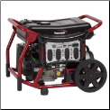 Powermate 8000-Watt Manual/Electric Start-battery included 445cc OHV eng-Low oil shutdwn-Fuel gauge,Wheel kit,120/240-33amp 6 outlets,Auto voltage reg,Free shipping (SKU: PM0148000)