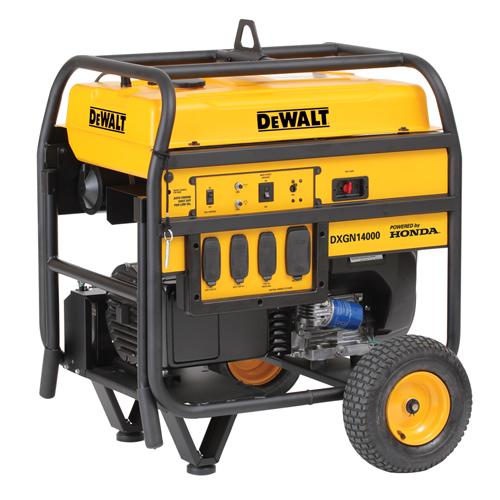 Dewalt 14 000e Hondagx 688cc Elect Start Battery Incl Low