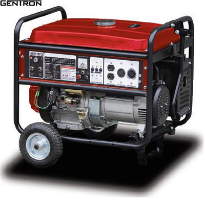 GENTRON Pro2 7500 watt GENERATORELECTRIC START50 amp 4 outlet