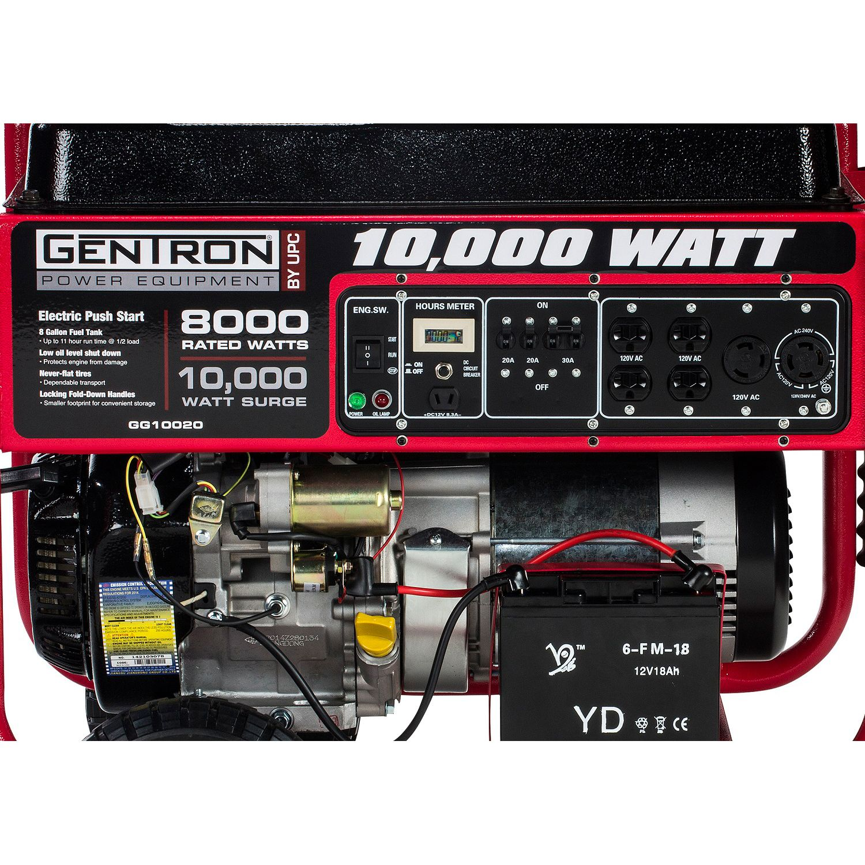 Gentron 10 000Wt New Model 15 Hp Elect Start