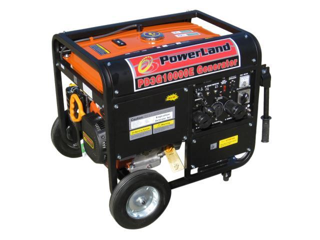 Powerland 10 000e Watt Tri Fuel Gas Propane Natural Gas