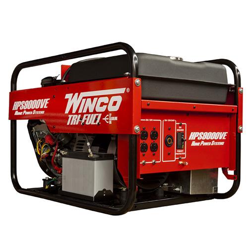 Winco Hps9000ve Trifuel Generator W Electric Start B Amp S 16