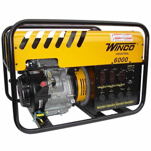 Winco Wc6000he Watt Electric Start W Honda 11 Hp Engine