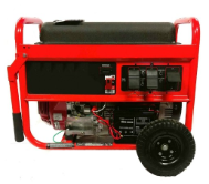 SMART GENERATORS 7000/12000W GASOLINE Honda Powered GX390-Electric start Battery (with Charger) and Wheel Kit Included-Low oil shutoff -Automatic Voltage Reg-(2 pairs) NEMA 5-15R 120-volt, AND (1) L-14-30R 240-volt twist outlet-FREE SHIPPING (SKU: 2-SMART GENERATORS  SG7000G  7000/12000)