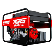 Winco HPS6000HE HONDA BI-Fuel Gasoline or Natural gas Generator Electric Start 11 HP GX340 337 c.c./OHV Low Oil Protection Auto Voltage Reg 20 Volt Straight Blade (NEMA 5-20R) 2-20A 120/240 Volt Twist Lock (NEMA L14-30R) 1-30A FREE SHIPPING (SKU: WINCO HPS6000HE)