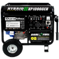 DuroMax XP10000EH 10000-Watt 18-Hp-Idle Voltag Selector-Control DUAL-FUEL--Gas-LP HYBRID  Electric Start-Battery,Wheel kit,Included120/240V 50A,Low Oil ShutoffCARB/Caiif EPA Compliant,FREE SHIPPING (SKU: DuroMax XP10000EH  CARB/Caiif EPA Compliant)