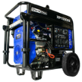 DuroMax XP15000E-Gasoline-713cc/233.7HP V-Twin-Electric-start Battery-Wheel Kit Included-50-amp/120/240EPA/CalifCompliant-FreeShipping (SKU: DuroMax XP15000E)