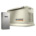 GENERAC  22,000-WATT SINGLE PHASE AUTO START AIR COOLED STANDBY GENERATOR-AUTO-TRANSFER SWITCH-FREE SHIPPING BUY [2] PAY BY CHECK $4998 (SKU: GENERAC 70432)