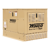 Winco 8kW Home Standby Generator,16-HP,LP/ Natural Gas, Electric Start B&S Vanguard EngineWeather-Resistant Enclosure,Low Oil Alert/Shutdown,,FREE SHIPPING