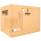 Winco ULPSS20B2W 1ph Air Cooled 20 kW Standby Generator Briggs & Stratton Vanguard Engine Sure Flow Cooling System DSE 3110 Digital Controller Prime Power Ready FREE SHIPPING