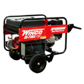 WINCO HPS9000VE Package Includes Wheel Kit 120V and 240V Tri-Fuel: LP, Gas, NG,Briggs & Stratton 16HP OHV Low Oil Shutdown-FREE SHIPPING