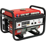 All Power America  3250W 6.5 HP Portable Generator, 120V 12V Output FREE SHIPPING