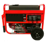 SMART GENERATORS 7000/12000W GASOLINE Honda Powered GX390-Electric start Battery (with Charger) and Wheel Kit Included-Low oil shutoff -Automatic Voltage Reg-(2 pairs) NEMA 5-15R 120-volt, AND (1) L-14-30R 240-volt twist outlet-FREE SHIPPING