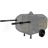 Winco 16199-036 - Two-Wheel Industrial Dolly Kit For W6010DE-WC10000VE Portable Generators