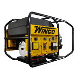 Winco Big Dog Industrial Gen-WL22000VE/B,19 kW, 31 HP, AVR, Electric Start AVR, 3600 RPM, 80 Amp Anderson Plug, Brushless Alternator, Built In America, Copper Windings, Fuel Gauge, GFCI Protection - Full, Hour Meter-FREE SHIPPING