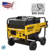 Winco | WL18000VE Industrial Portable Generator With Electric Start | 18,000 Maximum Watts | 15,000 Continuous Watts | Briggs And Stratton Gasoline Engine | Includes Wheeled Dolly Kit-Free Shipping