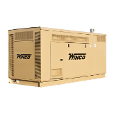 Winco 90kW ULPSS90-4/E, DSE7310 MKII Liq Cooled Dual Fuel  120/208V, 3-PH, 60HZ, GM 5.7L TAC, NG/LP, 1800 RPM, HOUSED Housed Comm Generator FREE SHIPPING