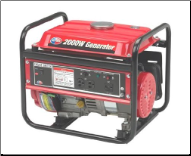 All Power 2000w portable gas  2 AC 120V outlets 1 DC 12V output-Great for emergency power at home and recreational power FREE SHIPPING (SKU: APG3014)