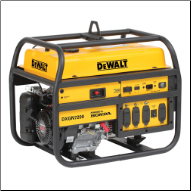 DeWalt 7200 Wt  Recoil Start HP/CC: 389 cc Low Oil Alert Fuel Gauge Idle Control Hour Meter120V/240V 4Outlets/ 2x20Ax120 1x30Ax120/240  3 year warranty EPA/CSA/CARB Free Shipping (SKU: PD612MHB005)