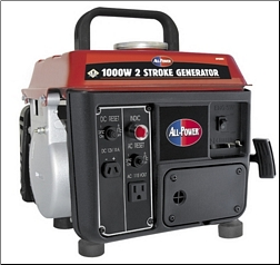 All Power 1000 Watt Generator 2-Stroke