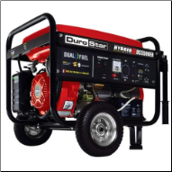 DUROSTAR DS5500EH 4500W/5500W DUAL FUEL 7.5 HP ELECTRIC START GENERATOR (SKU: DS5500EH)