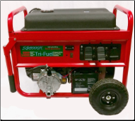 SMART/GEN–8000/14000W TRI FUEL-Electric/Recoil Start Battery-wheel kit incl W/ Kohler CH440 OHV Engine-Mecc Alte AlternatorW/100% copper windings,less than 4% THD) FREE SHIPPING (SKU: 3-SMART GENERATORS  SG8000K TRI-FUEL)