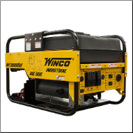 Winco WL18000VE - 15,000 Watt Electric Start, 895cc/ B&S OHV Vanguard Engine Low oil alert-Brushless 120/2401x20A Locking GFCI NEMA L5-20 6x20A NEMA 5-20 GFCI 240 Volt Receptacles1x30A Locking NEMA L6-30 120/240 Volt Receptacles  FREE SHIPPING (SKU: Winco WL18000VE)