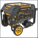 Firman H03651 - Hybrid Series 3650 Watt Electric Start Dual Fuel Portable Generator w/ RV Outlet (SKU: HO3651)