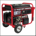 All Power America 10000eW 15hp 4Stroke OHV 420cc Electric Start/Includes:Battery  Hour Meter Never Flat Tires Low Oil Shutdwn 120/240v Recepticles 2x120vDuplex 1x120vLocking Plug 1x120/240v Locking Plug 1x12vDC EPA/CARB/CaliforniaCompliant_Free Shipping (SKU: APGG10000)