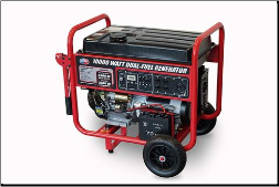 All Power apgg10000gl-420cc 18 Hp,Idle Control,Low Oil Shutoff,Battery-Wheel kit incl Contractors&HomeOwner First choice,EPA CARB Compliance Free Shipping