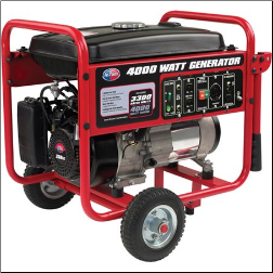 All Power APGG4000 4000W Portable Generator with Wheel Kit FREE SHIPPING