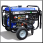 DuroMax XP4400EH 4400-Watt Dual Fuel Hybrid Propane/Gasoline w/ Wheel Kit &Electric Start,LowOil Shutoff-Idle control-FREE SHIPPING (SKU: DuroMax XP4400EH)