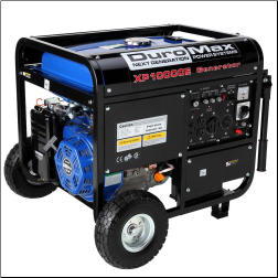 Duromax 10,000-Watt Gasoline Electric Start BatteryIncluded-420cc-18HP Idle Control- Wheel Kit-Low Oil  Shutoff-120v/240v 50 AmpCARB/Caiif EPA Compliant-FREE SHPPING