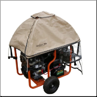GenTent Rain/Wet Weather Safety Canopy GT20KBOOTB TAN WINCO HPS-9000VE FREE SHIPPING (SKU: GenTent WINCO HPS 9000 Rain/Wet Weather Safety Canopy GT20KBOOTB)
