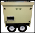 SMART GENERATORS GenRover™-Enclosed Dual Fuel LP/NG-HONDA® GX630 OHV Engine -sound dampening steel enclosure,Premium Mecc Alte Alternator with 100% copper winding-less than 4% THD-(2) 5-20R 120V 20A DUPLEX GFCI; (1) L14-30R 120V/240V 60DBA FREE SHIPPING (SKU: SMART GENERATORS GenRover)