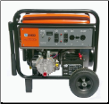 SMART GENERATORS-SG6000K – 6000/7200 Watt-30AMP- Tri Fuel W/ Kohler CH395 OHV Tri Fuel Engine-9.5 HP (Gasoline), 8.5 HP (LPG), 7.6 HP (Natural Gas)-Automatic Voltage Regulator-less than 6% THD-Battery and mobility kit included-FREE SHIPPING (SKU: SMART GENERATORS SG6000K)