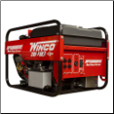 Winco HPS9000VE  TriFuel Generator w/ Electric Start B&S 16 HP Vanguard Engine Low Oil Alert/Shutdown 120 Volt Straight Blade (NEMA 5-20R) 4-20 amp 120/240 Volt Twist Lock (NEMA L14-30R) 1-30 amp EPA FREE SHIPPING (SKU: Winco HPS9000VE)