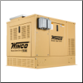 WINCO SOLAR PSS12H2W 9.6KW NG/LP GEN WITH SOLAR CHARGER,Honda GX690 Engine,DSE 3110 Digital Controller-Premium Square D Circuit Breakers FREE SHIPPING (SKU: WINCO PSS12H2W SOLAR)
