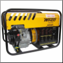 Winco WC6000HE Watt Electric Start w/ Honda 11 HP Engine Rotating Field Brush for starting motors •Automatic idle control •Hour meter •Fuel cap with indicator gauge •Multiple GFCI outlets CARB/CSA/EPA Free Lift Gate Shipping (SKU: WINCO WC6000HE)