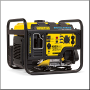 Champion 3500 Watt Open Frame Inverter-Auto Voltage Regulation -Digital Hybrid Recoil Start Idle Control, Technology Less Than 3% THD,-224cc Champion OHV 4-Stroke Engine w/Low-oil shutoff- TT-30 RV Receptacle FREE SHIPPING (SKU: Champion 3500 Watt Open Frame Inverter 100302)