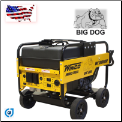 Winco | WL18000VE Industrial Portable Generator With Electric Start | 18,000 Maximum Watts | 15,000 Continuous Watts | Briggs And Stratton Gasoline Engine | Includes Wheeled Dolly Kit-Free Shipping (SKU: WINCO WL18000VE PACKAGEW/WHEEL KIT BATTERY 24018-010)