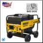 Winco | WL18000VE Industrial Portable Generator With Electric Start | 18,000 Maximum Watts | 15,000 Continuous Watts | Briggs And Stratton Gasoline Engine | Includes Wheeled Dolly Kit-Free Shipping (SKU: WINCO WL18000VE W/WHEEL KIT BATTERY)