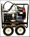SMART The Motorhead®-12000/21000 Watt Gasoline-20 HP Honda GX630 OHV Engine-Premium Mecc Alte Alternator with 100% copper windings, less than 4% THD-Low oil shutoff protection Battery and commercial 4 wheel mobility kit -Hyd/magnetic circuits-FREE SHIPPING (SKU: SMART The Motorhead  12000/21000)