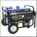 "Gentron Pro2 6000p 13hp Propane Generator Elec Start 1 Includes Battery.Fuel Hose.10""Wheel Kit Auto Fuel Shut Off Hour Meter-8hr Run@ Half Loadx 5gal/20lb Propane Fuel 120/240v 5 Outlets>2x120v 1x120v 1x120/240v1x12  Voted Best RV Generator Free Shipping (SKU: GG6000P)"