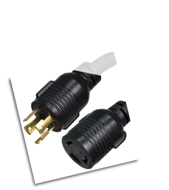 WINCO GENERATOR POWER CORD NEMA L14-30P to L6-30R - 30A, 10 AWG, 125/250V FREE SHIPPING WITH GENERATOR PURCHASE