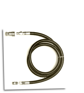 SMART GEN Premium 10ft  3/4″ Low Pressure Natural Gas/LPG Hose With Quick Disconnect Kit FREE SHIPPING