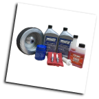 WINCO Maintenance Kit 16200-005 Compatibility Honda GX630-Contents  Air filter, oil filter, fuel filter, spark plugs, 5W-30 oil, Sta-bil, and mechanics cloth (SKU: Winco Maintenance Kit Compatibility Honda GX630-16200-005)